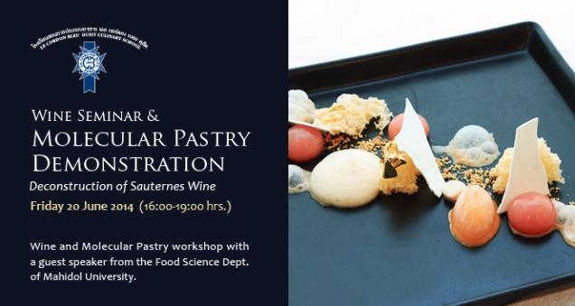 Molecular Pastry Demonstration