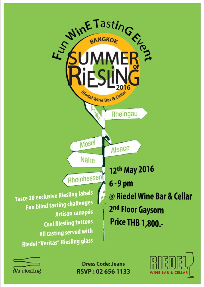 Summer of Riesling